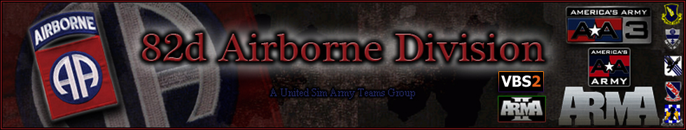 Welcome to the 82nd Airborne Division - A United Sim Army Team